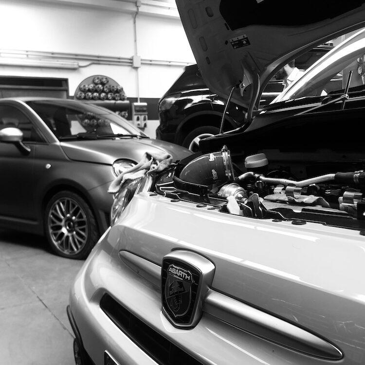 Manutenzione Abarth Bonnici MotorSport